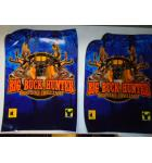 BIG BUCK HUNTER SHOOTER'S CHALLENGE Arcade Machine Game CABINET ARTWORK DECAL SET - 7 PIECE #721 for sale