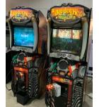 BIG BUCK HUNTER WORLD Arcade Machine Game for sale by Raw Thrills - Dual Pump Action Shotguns - EXCELLENT CONDITION!