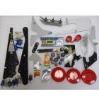 BRIDE OF PINBOT Pinball Machine Game Lot of plastics #BOP-31