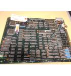 "Bad Dudes VS Dragon Ninja Arcade Machine Game PCB Printed Circuit Board #443 - Data East - ""AS IS"""