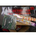 BEASTORIZER Arcade Machine Game PCB Printed Circuit Board, Header