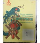CENTIPEDE Arcade Machine Game Operation, Maintenance & Service Manual #41 for sale - ATARI