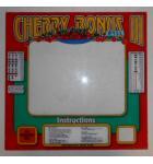 CHERRY BONUS III Arcade Machine Game Monitor Bezel Artwork Graphic PLEXIGLASS #432 for sale