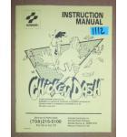 CHICKEN DASH Arcade Machine Game INSTRUCTION MANUAL #1112 for sale