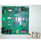 CROMPTONS SOCCER SHOT / SLAM JAM PUSHER REDEMPTION Arcade Game Machine PCB Printed Circuit MAIN Board #1590 for sale