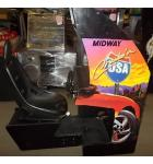 CRUIS'N USA Sit-Down Arcade Machine Game for sale by MIDWAY