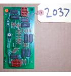 CYCLONE Redemption Arcade Machine Game PCB Printed Circuit DISPLAY Board #2037 for sale