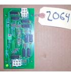 CYCLONE Redemption Arcade Machine Game PCB Printed Circuit DISPLAY Board #2064 for sale