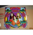 CHARLIES ANGELS Pinball Machine Game Backglass Backbox Artwork