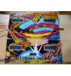 CLOSE ENCOUNTERS OF THE THIRD KIND Pinball Machine Game Backglass Backbox Artwork