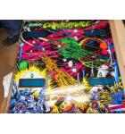 COUNTERFORCE Pinball Machine Game Backglass Backbox Artwork