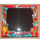DONKEY KONG III Arcade Machine Game Monitor Bezel Artwork Graphic PLEXIGLASS #1164 for sale