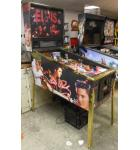 ELVIS Pinball Machine Game for sale - with Custom Decals, New Gold Ramps - ONE OF A KIND