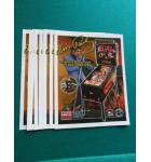 ELVIS Pinball Machine Game Original Sales Promotional Flyer