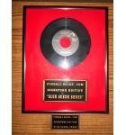Elvis Presley Framed Blue Suede Shoes 45 RPM Record Collectible Wall Art Decor with extra Plaque for pinball machine game #67