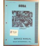FIGHTING VIPER'S Arcade Machine Game SERVICE MANUAL #728 for sale