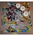 FLASH Pinball Machine Game PLASTICS LOT #2620 for sale