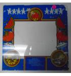 FOOD FIGHT Arcade Machine Game Glass Marquee Bezel Artwork Graphic #76 by ATARI for sale