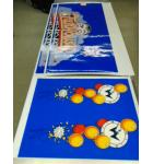 FUNHOUSE Pinball Machine Game Cabinet Artwork 4 piece Decal Set NEW/OLD STOCK #55 for sale