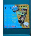 FAMILY GUY Pinball Machine Game Original Sales Promotional Flyer