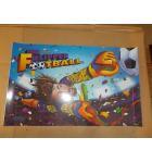 FLIPPER FOOTBALL Pinball Machine Game Translite Backbox Artwork
