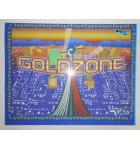 GOLDZONE Redemption Machine Game Translite Backbox Artwork - #442 for sale