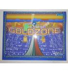 GOLDZONE Redemption Machine Game Translite Backbox Artwork - #443 for sale