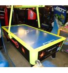 GREAT AMERICAN 8' POWER Air Hockey Table COIN-OP/OVERHEAD SCORING