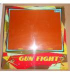 GUN FIGHT Arcade Machine Game Plexiglass Marquee Graphic Artwork #1172 for sale