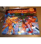 GLADIATORS Pinball Machine Game Translite Backbox Artwork