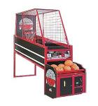 HOOP FEVER BASKETBALL Arcade Machine Game by ICE - Stationary Basket