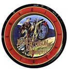 Harley Davidson Motorcycles Roadhouse Collection Neon Clock - Official Licensed Product for sale - Sweeping second hand