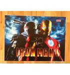 IRON MAN Pinball Machine Game Translite Backbox Artworkfor sale by Stern - signed by John Borg