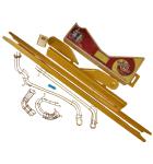 JJP WIZARD OF OZ YELLOW BRICK ROAD PINBALL 11 piece Yellow Trim Ramp Lot #5549