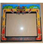 JUNGLE KING Arcade Machine Game GLASS Marquee Bezel Artwork Graphic #1212 for sale