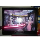 Java Dreams Neon Art Print by Chris Consani 1999 for sale - Movie Fantasy - Marilyn Monroe, James Dean, Elvis for sale.