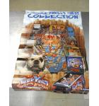 Junkyard Pinball Machine Game Original Advertising Promotional Poster 36 x 24 USED minor defects #60
