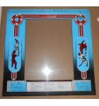 KARATE CHAMP Arcade Machine Game Plexiglass Marquee Graphic Artwork #1206 for sale