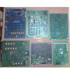 LOT of 6 UNKNOWN Arcade Machine Game PCB Printed Circuit Boards #1265 for sale
