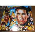 LAST ACTION HERO Pinball Machine Game Translite Backbox Artwork