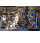 Lethal Weapon 3 Pinball Machine Game Playfield wiring harness with various under playfield assemblies and more for sale #LW5