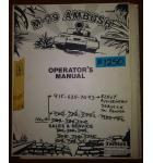 M-79 AMBUSH Arcade Machine Game OPERATOR'S MANUAL & SCHEMATICS #1250 for sale