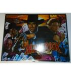 MAVERICK Pinball Machine Game Translite Backbox Artwork #W25 for sale