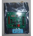 MERIT MEGATOUCH Arcade Machine Game PCB Printed Circuit SETUP & CALIBRATE SWITCH Board #PB10052-01 for sale
