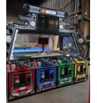 NASCAR SHOWDOWN-4 Player Interactive Arcade Racing Game by BayTek for sale