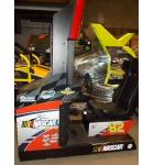 "NASCAR Team Racing 42"" Prototype Arcade Machine Game for sale by SEGA"