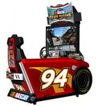 NASCAR Team Racing Deluxe Sit-down Arcade Machine Game for sale by Global VR