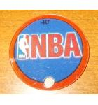 NBA Authentic Pinball Promotional Key Fob Keychain Plastic - Stern