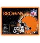NFL CLEVELAND BROWNS Pinball Machine Game Translite Backbox Artwork for sale