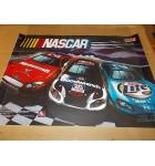NASCAR Pinball Machine Game Translite Backbox Artwork